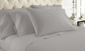 1000-Thread-Count 100% Cotton Allure Solid Sheet Set