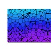 Crystals of Blue and Purple Canvas Print
