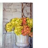 Patty Tuggle Shabby Flowers Still Life Canvas Print