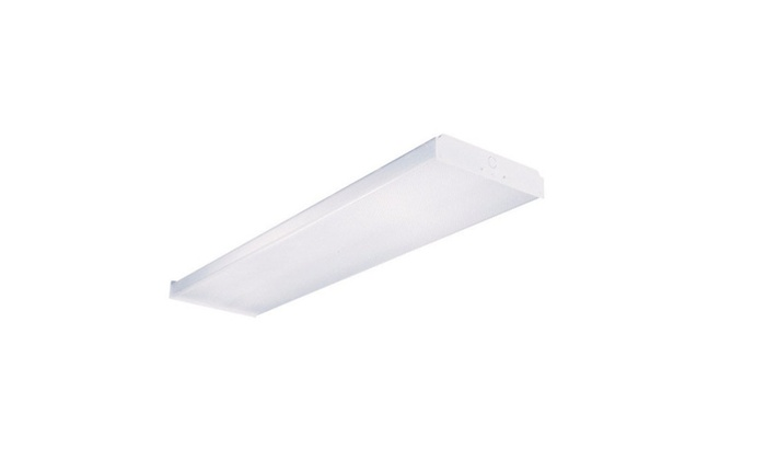 Metalux WN232R Fluorescent Wrap Fixture Light ,4', 2 Lamp