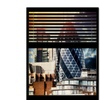 Philippe Hugonnard Window View The Gherkin 2 Canvas Print 24 x 32