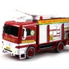 Fire Rescue 'Brigade Pumper' Bubble Blowing Bump & Go Battery Operated Toy