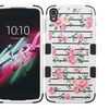 Insten Roses Layer Silicone Case For Alcatel One Touch Idol 3 Pink WH