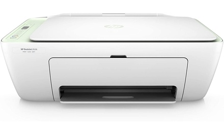 HP DeskJet 2636 Wireless All-in-One Color Inkjet Printer, (White)- Refurbished