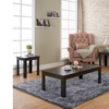 Micah Cappuccino Traditional 3 PC Coffee Table Set