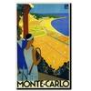 Monte-Carlo Canvas Print