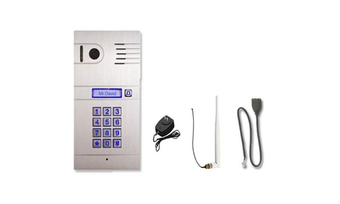 SVT Innovations SVT-WIFI Video Intercom System with Keyless Entry