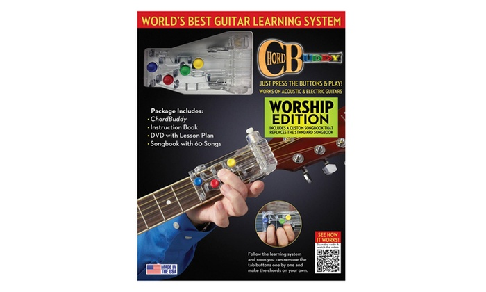 Up To 10% Off on ChordBuddy Guitar Learning Sy... | Groupon Goods
