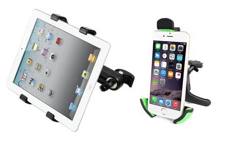 Universal Air Vent Mount for Smartphones & Headrest Mount for Tablets af82c74b-2717-4bc9-9afe-e8a4855f679b