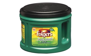 Folgers Simply Smooth Decaf Coffee, 23 Ounce each (Pack of 6)