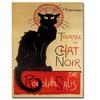 Theophile A. Steinlen 'Tournee du Chat Noir' Canvas Rolled Art