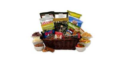 Gourmet gifts deals coupons groupon image placeholder image for gift basket gluten free snack gift basket negle Choice Image