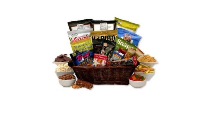 Gift basket gluten free snack gift basket groupon gift basket gluten free snack gift basket negle Gallery