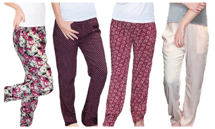 Women's Sleepwear Loungewear with Pockets (4-Pack)