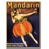 Mandarin Canvas Print 24 x 32