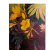 Sheila Golden Tropical Evening Canvas Print