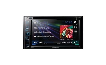 Pioneer AVH-270BT Car Double-DIN DVD Receiver with Bluetooth(R)