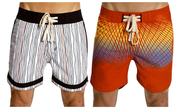 Men's Swim Trunks and Board Shorts