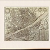Map of Florence, 1595 by Matteo Florimi