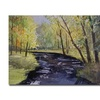 Ryan Radke View From the Covered Bridge Canvas Print