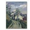 Paul Cezanne The House of Doctor Gachet Canvas Print
