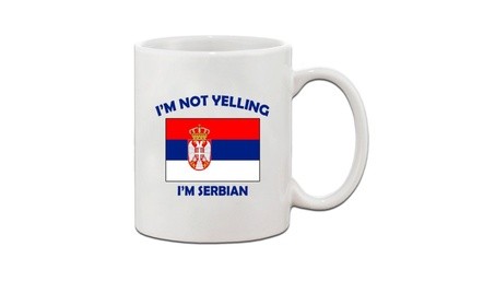 I'M Not Yelling I Am Serbian Serbia Serbians Ceramic Coffee Tea Cup 05fd4f0c-9c82-4f24-b96d-724bee16e9e4