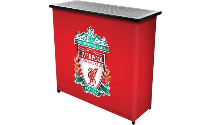 Premier League Liverpool Football Club Portable Bar with Case