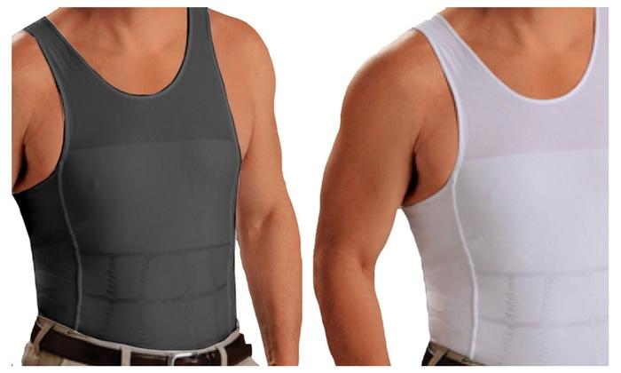 b7b2fa53c7c2c Men s Compression Instant Slimming Shirt