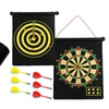 Double Sided Hanging Magnetic Dart Board Game
