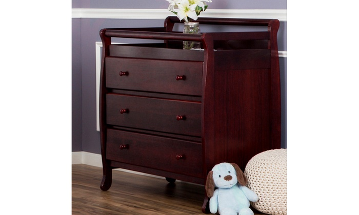 Dream On Me, Liberty Collection 3 Drawer Changing Table | Groupon