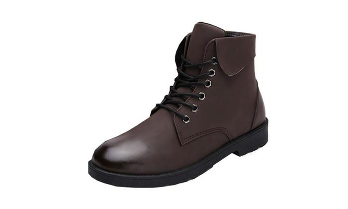 Men's Breathable Casual Marten Boots