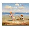 At the Beach I Canvas Print 26 x 32