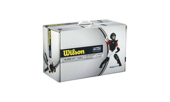 Wilson EZ Gear Catcher's Kit Size L/XL