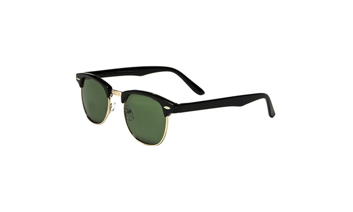 Clubmaster Square Style Unisex Sunglasses - 100% UV Protection