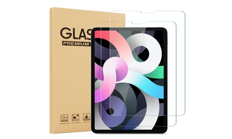 "(2 Pack) Tempered Glass Screen Protector for Apple iPad Air 4 10.9"" (2020)"