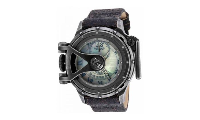 Invicta 18591 White Dial Vintage Quartz 3 Hand Men's Watch