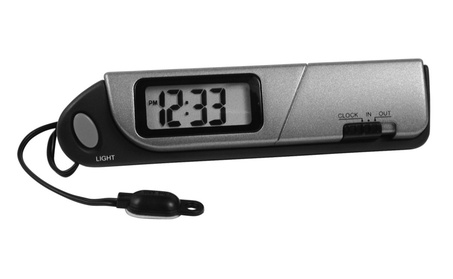 Unique Accessories 11058 Indoor/Outdoor Digital Thermometer & Clock