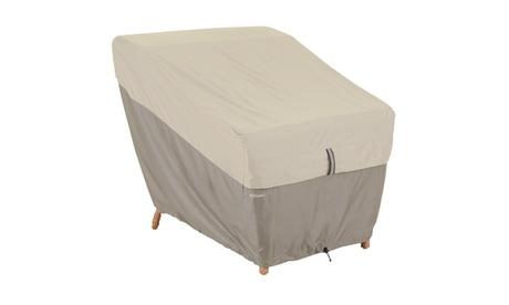 Classic Accessories Belltown Lounge Chair Cover, Grey 5466ed0e-0a4d-49d4-b957-a1dec800ec5a