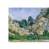 Vincent Van Gogh The Alpilles 1889 Canvas Print