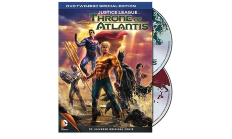 Justice League: Throne of Atlantis: Special Edition(DVD) 30a25080-4bcb-4ed3-af83-61a230533983