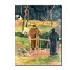 Paul Gauguin Bonjour Monsieur Gauguin Canvas Print