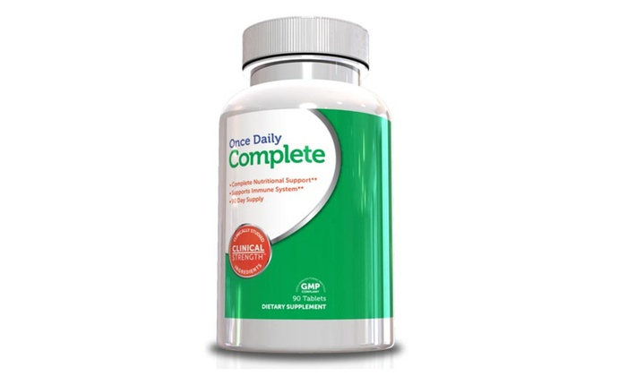 Buy It Now : Multivitamin for Men and Women, Once Daily Complete, 90 Tablets