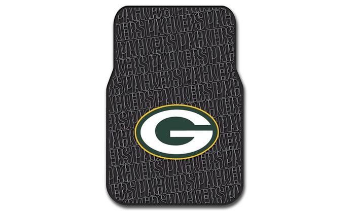 NFL 343 Packers Car Front Floor Mat