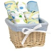 Dr. Seuss Bib and Burp Cloth Basket Gift Set, Oh, The Places You'll Go