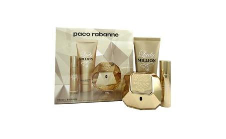 Paco Rabanne Lady Million 3 Pcs Gift Set Travel Edition for Women 0b802e71-8148-4a7c-99f8-76cdf1ebe939