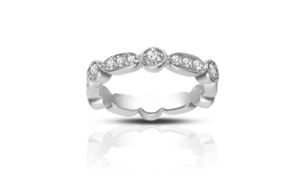 0.75 ct Ladies Brilliant Cut Diamond Eternity Wedding Band