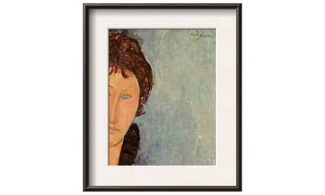 Woman with Blue Eyes, C.1918 by Amedeo Modigliani 99666ca1-4089-4445-a32d-bdaaa91821d6