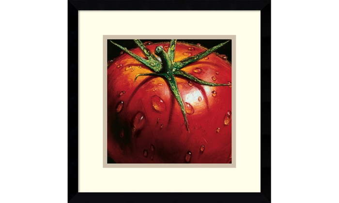 Alma Ch Tomato Framed Art Print 15x15 In Groupon