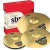 Sabian Brass SBr Performance Set Cymbal Package