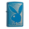 Zippo Playboy Logo Pocket Lighter, Sapphire 29064